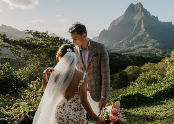 moorea wedding hilton